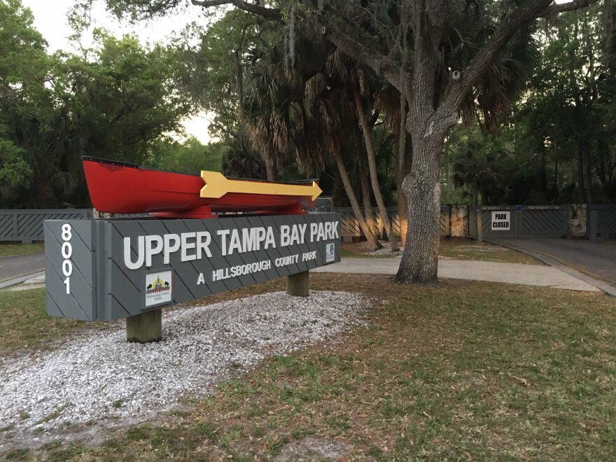 Upper Tampa Bay Park, and other parks and nature preserves across Hillsborough County, will soon reopen.