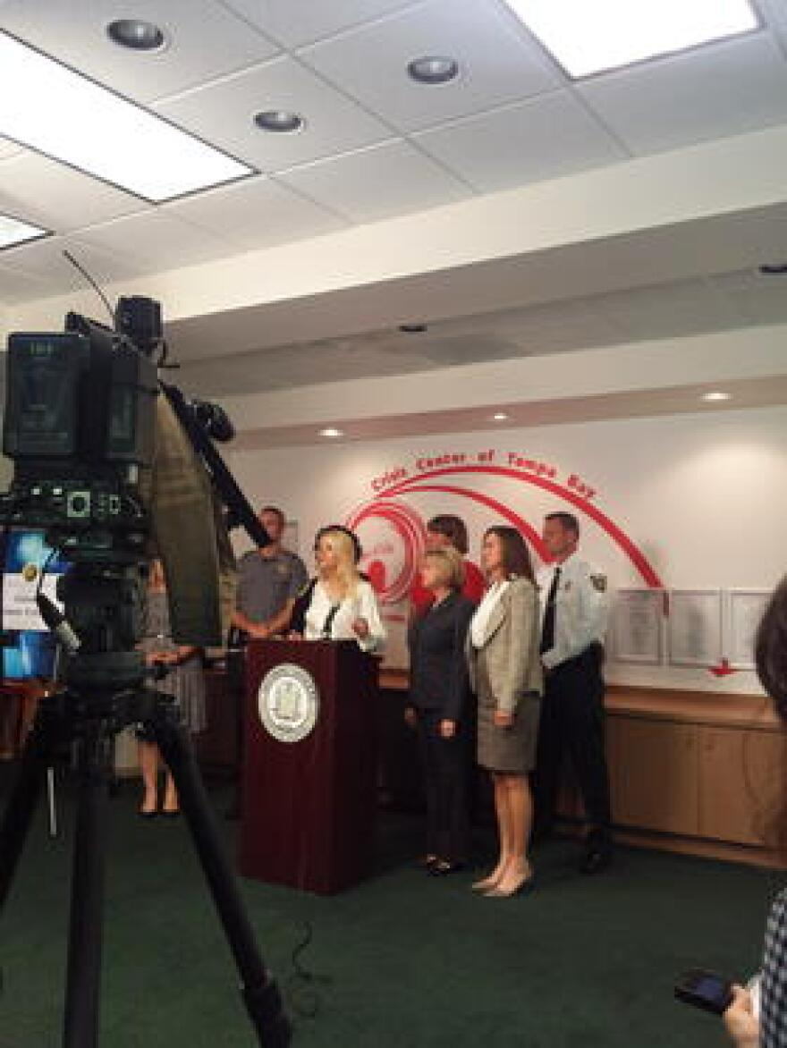 Attorney General Pam Bondi talks about thousands of unprocessed rape kits in Florida.