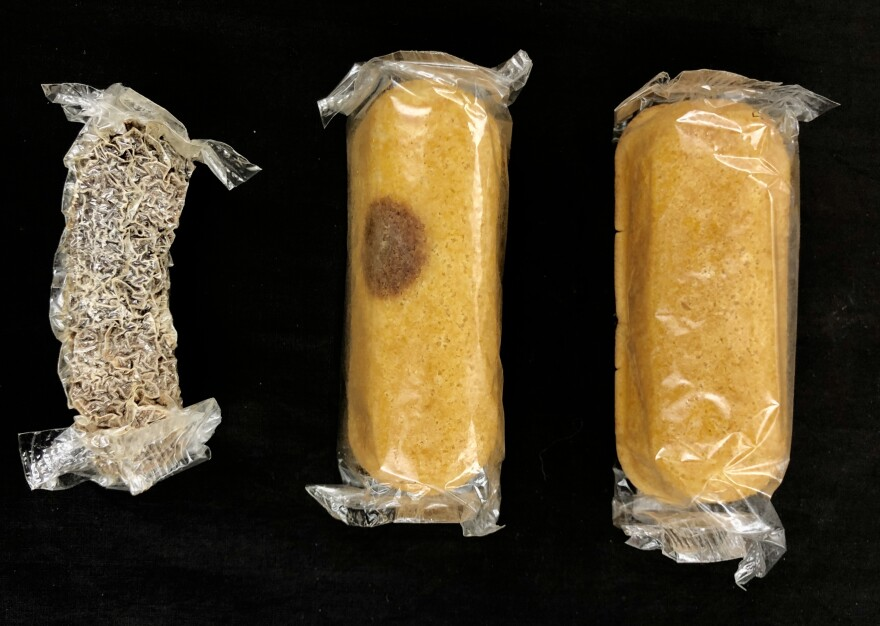 For eight years, a box of Twinkies sat in Colin Purrington's basement until last week when he finally opened them. Varying levels of mold had developed on the snack cakes, and he eventually sent them to two West Virginia University scientists to further study the kind of fungus growing on them.