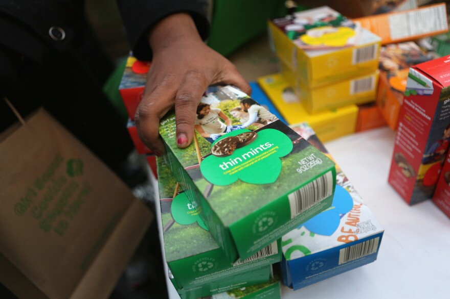 A Kentucky woman made off with $15,000 worth of Girl Scout cookies. She and the cookies are missing. Any cookie detectives out there?