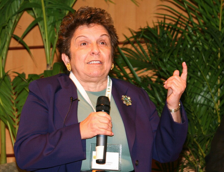 Donna Shalala is stepping down as president of the University of Miami next year.