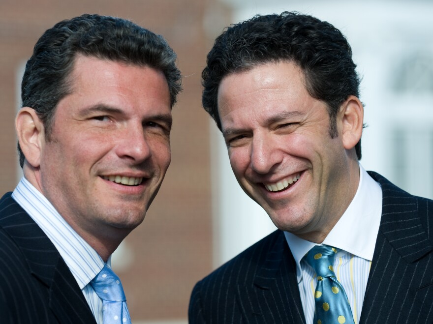 Brothers John and Martin Pizzarelli grew up in a household where jazz greats like Benny Goodman and Les Paul were family friends.