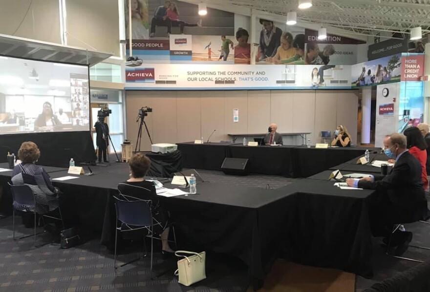 School District Officials Gather To Discuss Undergraduate Program Closing