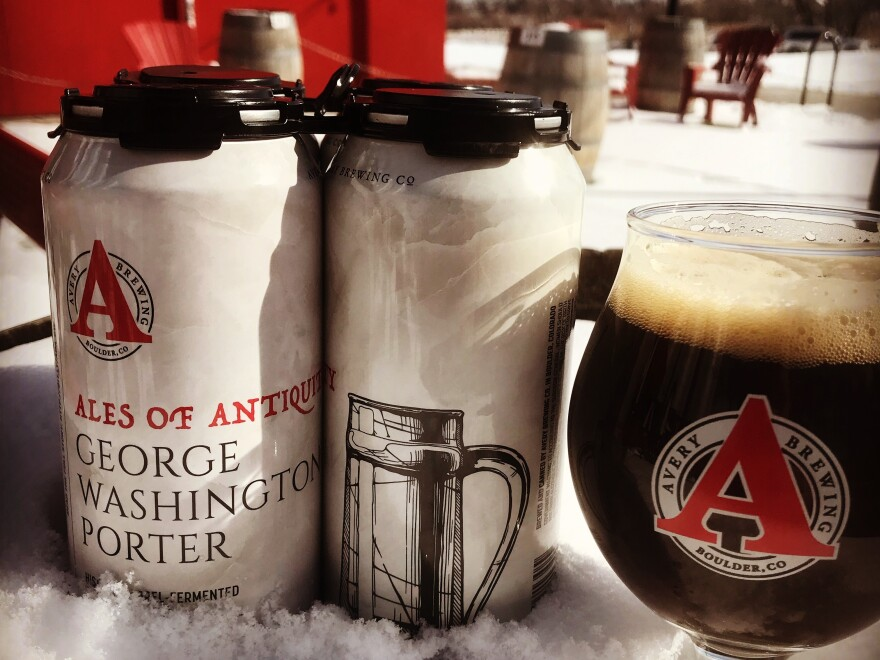 """The latest """"Ale of Antiquity"""" was inspired by George Washington's preference for porters. Rupp says one historic account mentioned the president """"drank porter and three glasses of wine and became quite boisterous by the end of the dinner."""""""