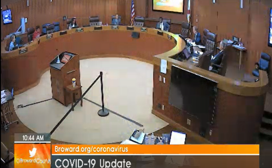 Broward County commissioners discuss potential ways of spending the CARES Act Fund. They plan to further discuss these details on June 16.