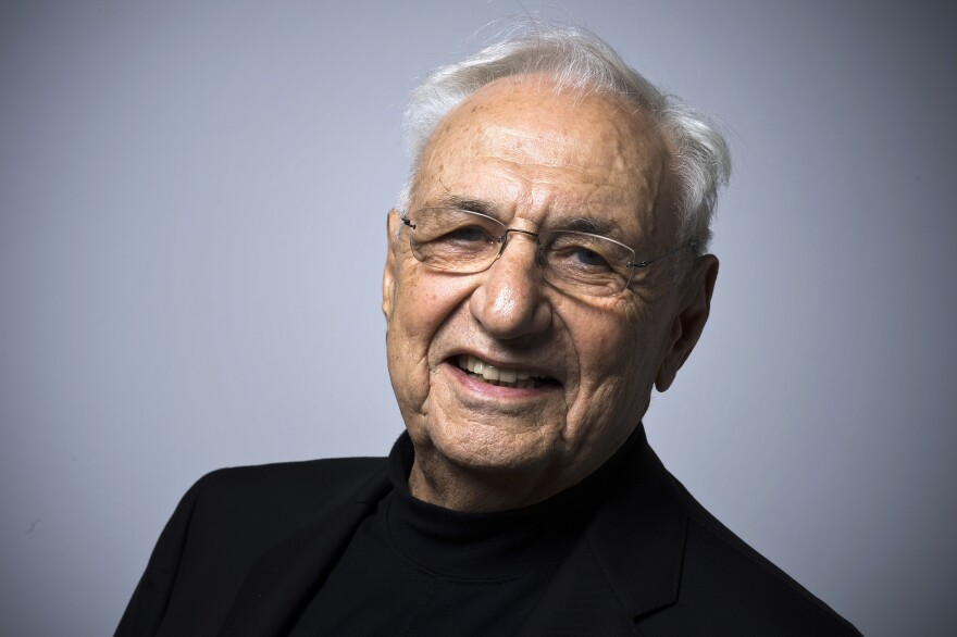 "Gehry, 86, says his work can never be perfect: ""by definition it can't because we're defective creatures."" But that hasn't stopped him from creating inspired structures for decades."