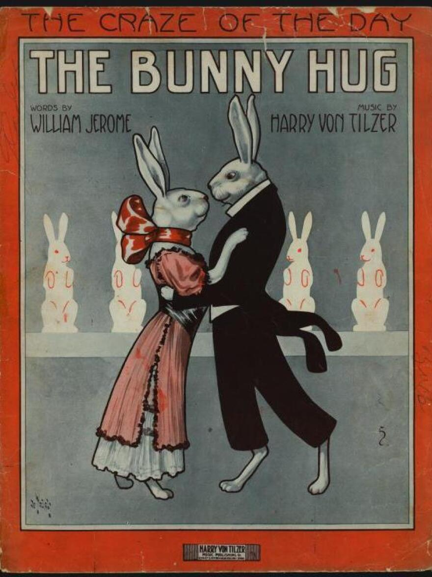 The Bunny Hug sheet music, 1912.