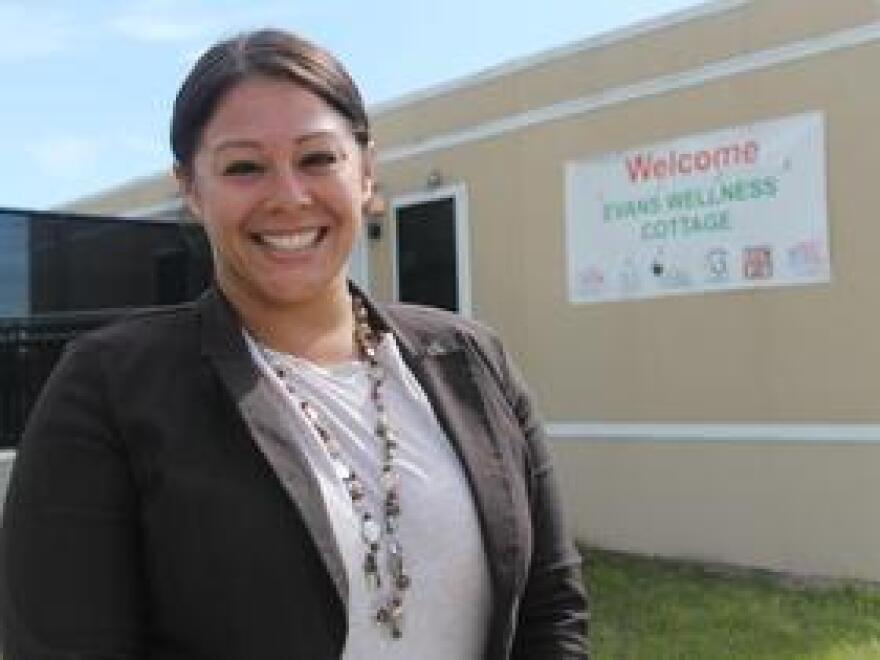 Tasha Casaccio is spokeswoman for True Health, the company that operates the Evans Wellness Cottage in Orlando.
