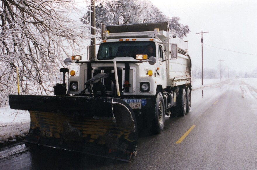 photo of snow plow
