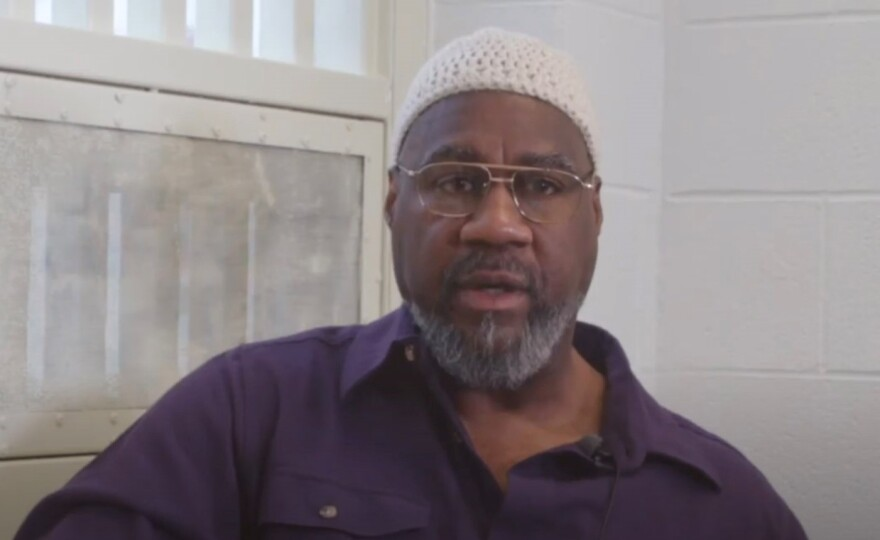 Anthony Bottom, who now goes by the name Jalil Muntaqim, was interviewed in New York state prison in 2018. He's going home on parole after more than four decades behind bars.
