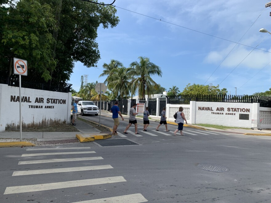 For the second time in less than two years, a Chinese national has been charged with walking onto NAS Key West Truman Annex and taking photos.