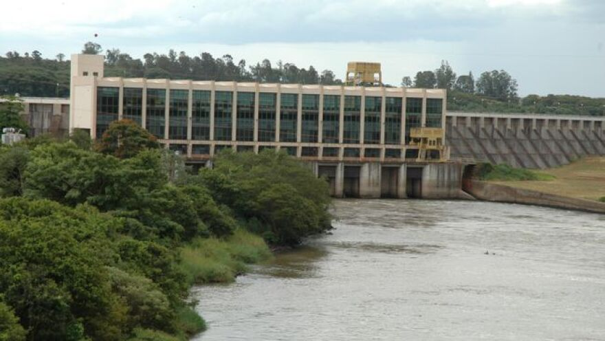 Duke Energy owns eight hydroelectric plants like this one in southeastern Brazil.