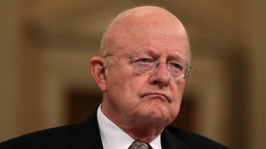 Director of National Intelligence James Clapper announced his retirement Thursday during a hearing of the House Intelligence Committee.