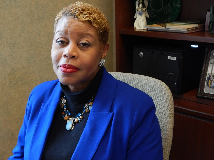 Kimberly Barrett is Wright State University's Vice President For Multicultural Affairs and Community Engagement.