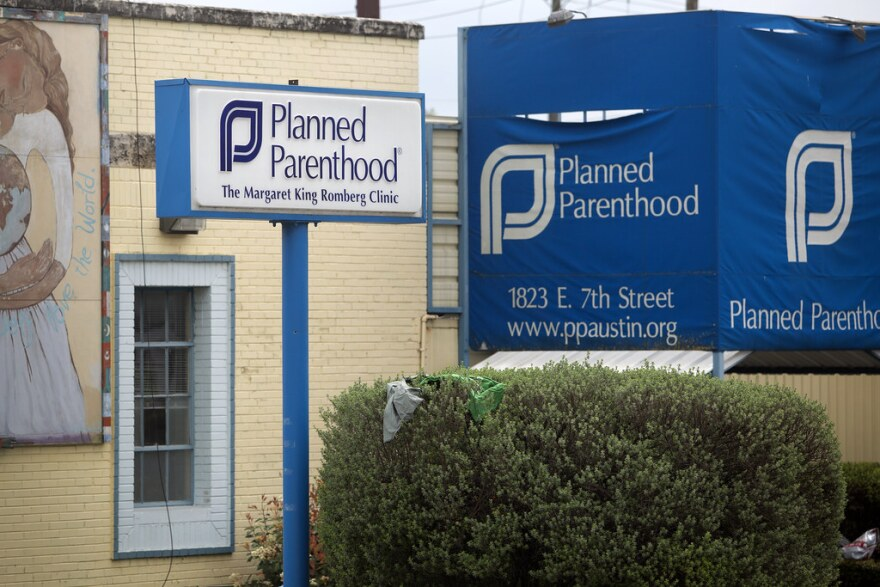 The outside of the Planned Parenthood building on East Seventh Street.