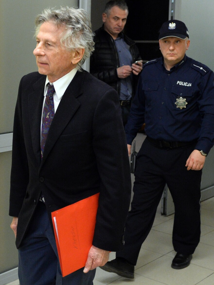 Film director Roman Polanski, 82, seen here leaving an earlier court hearing in Krakow, can't be extradited to the U.S., a Polish court ruled Friday.