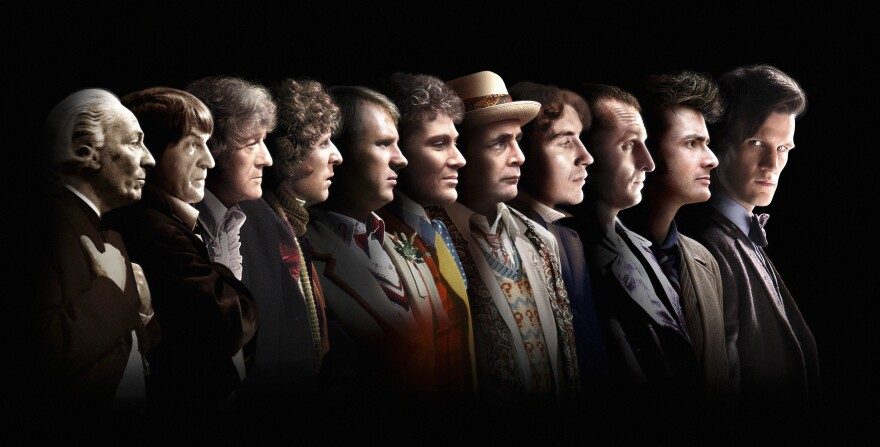 There have been 11 incarnations of the Doctor since the show began in 1963.