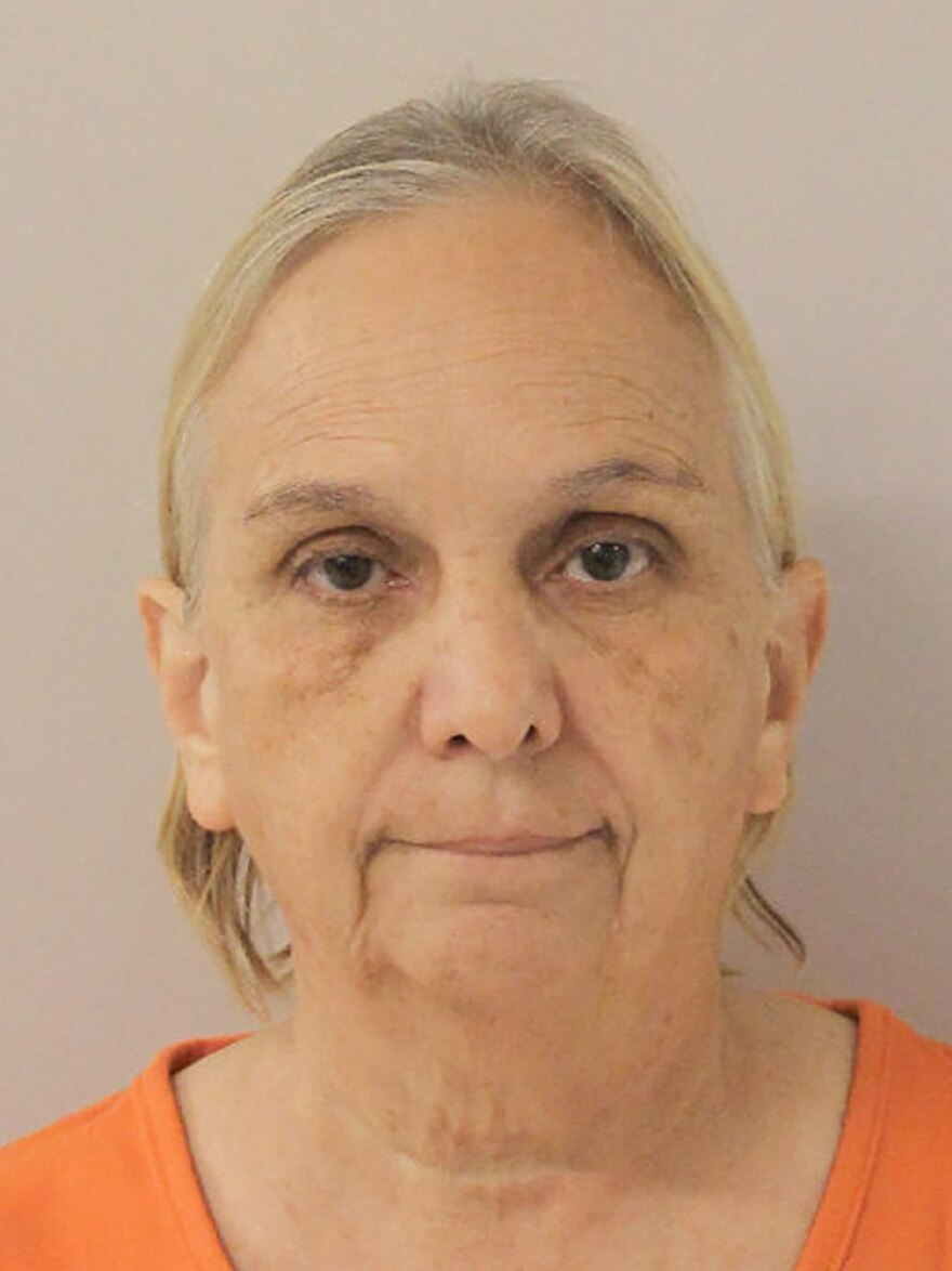 Debbie Van Horn was arrested Thursday at Houston's George Bush Intercontinental Airport and booked into the Walker County Jail on Thursday.