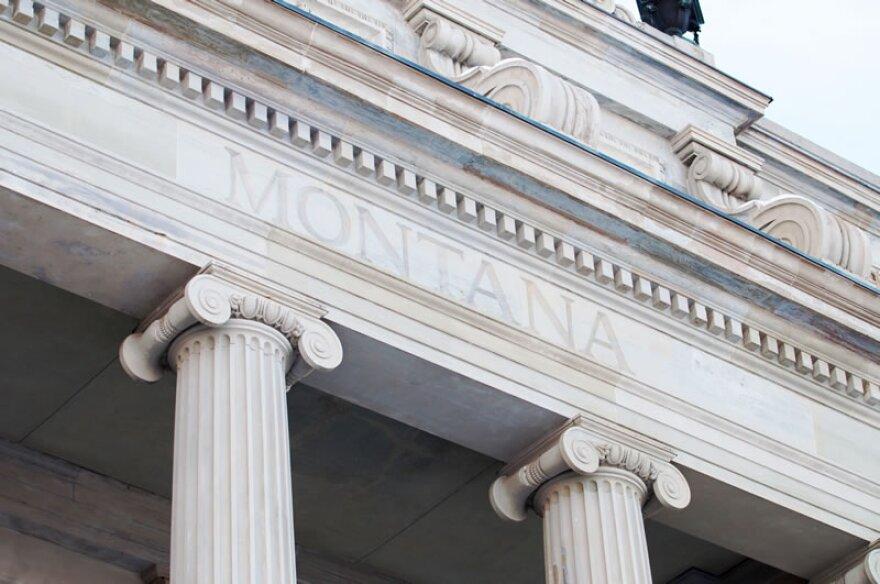 Montana Capitol in Helena.