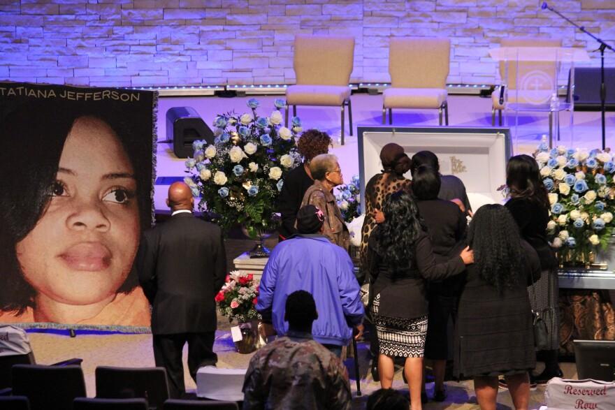 Atatiana Jefferson's funeral