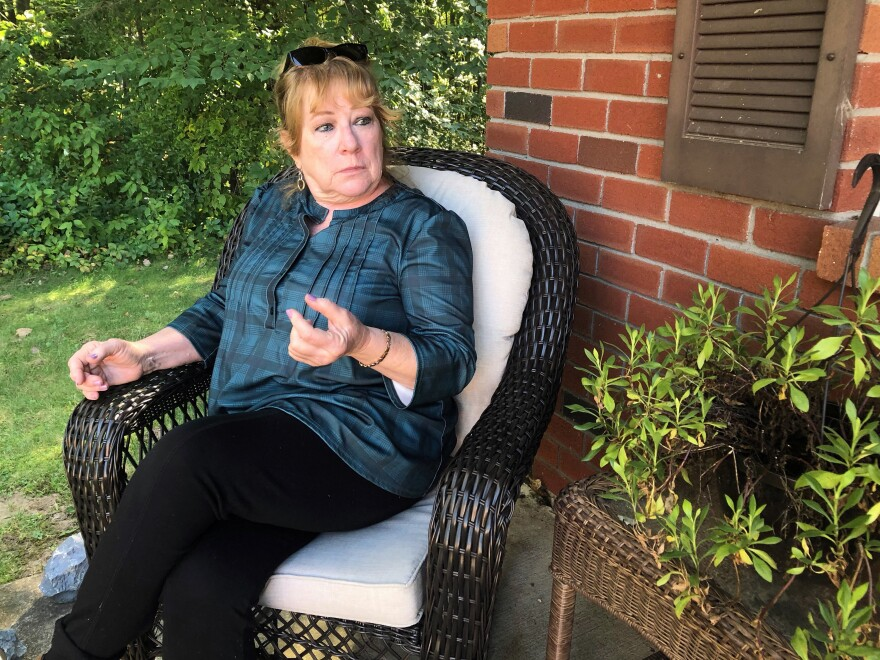 """""""You know, you get through it. But it does take its toll on your heart and soul,"""" says Mary Hartshorne, one of the plaintiffs in a lawsuit over the failed St. Clare's Hospital pension plan."""