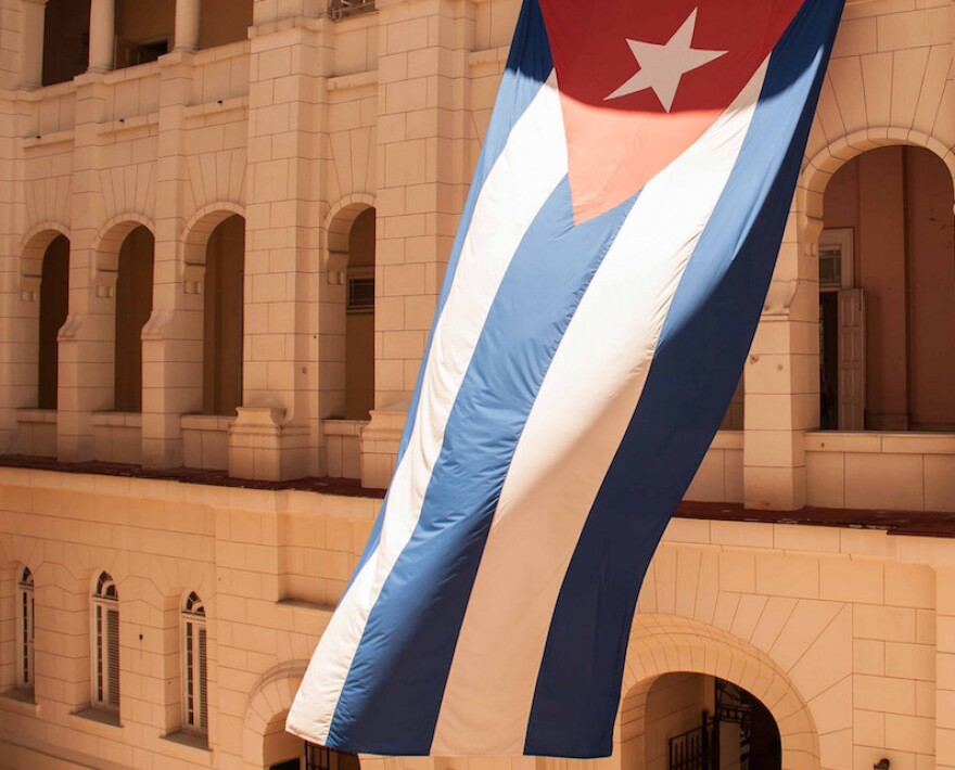 Gov. Greg Abbott visited Cuba on a trip to explore trade ties between Texas and the island nation.
