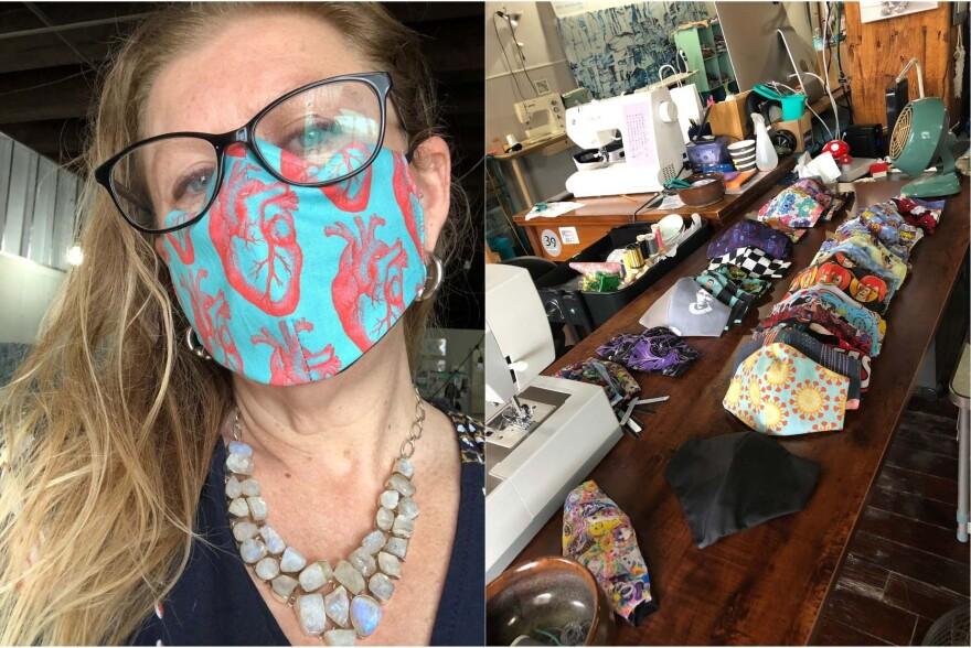 Amy DeSitter Masks
