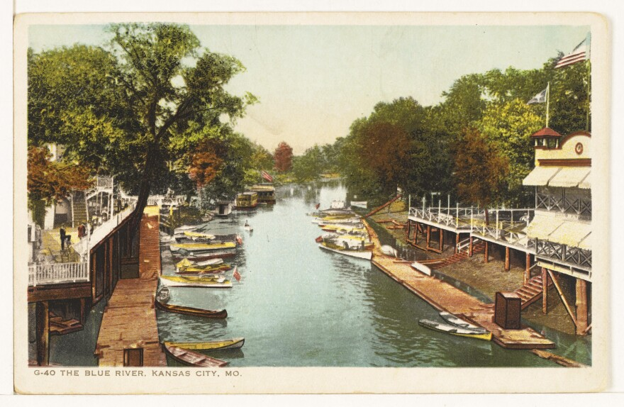 Blue River Postcard