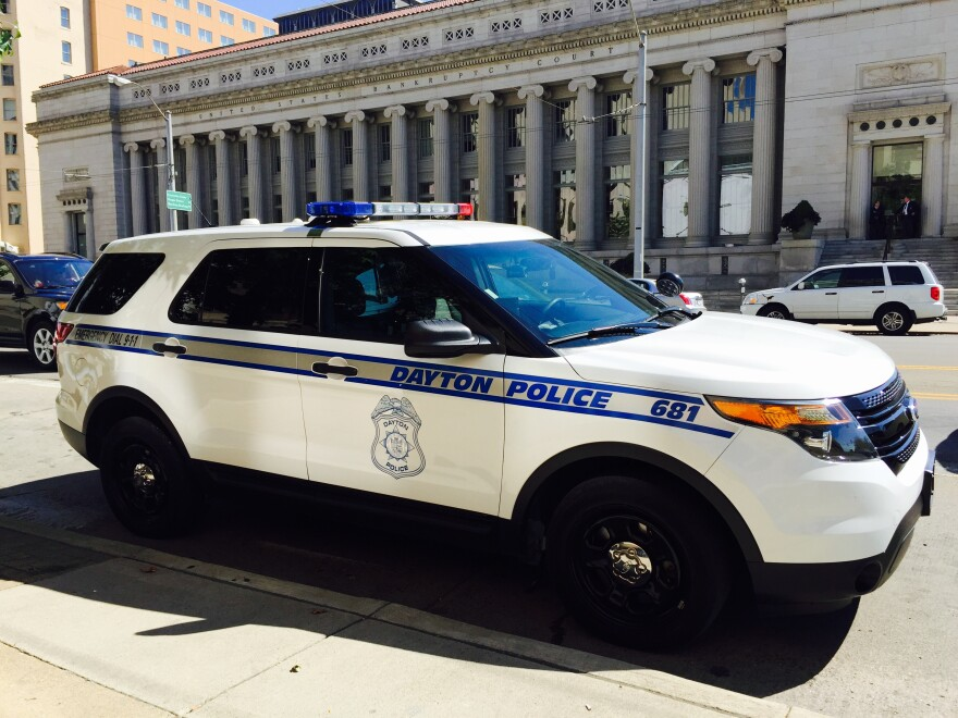 Dayton police say response times depend on call volume and the priority level of the call.  dayton police car