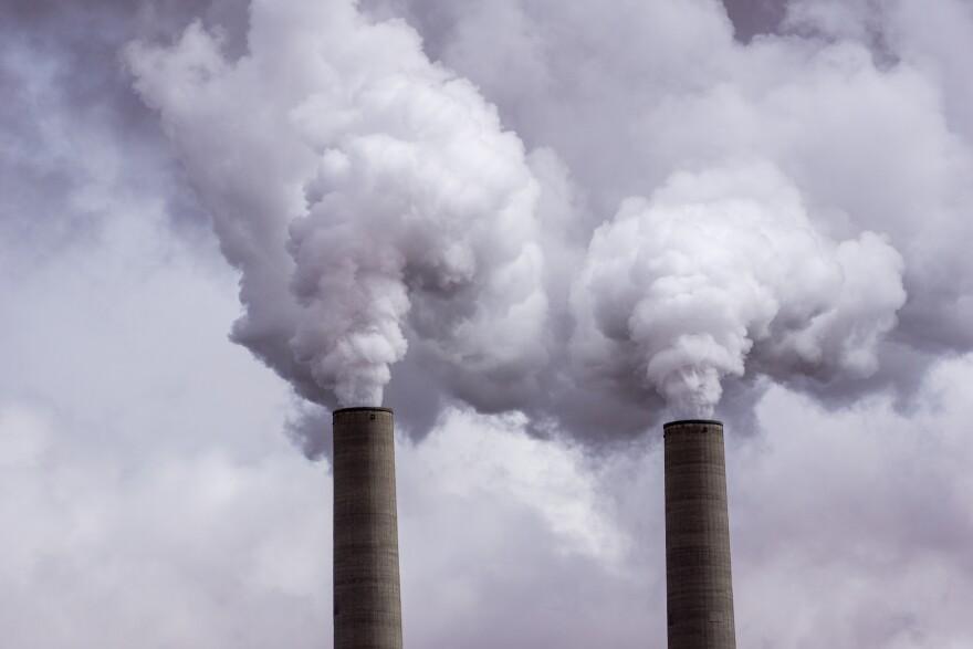 photo of smokestacks