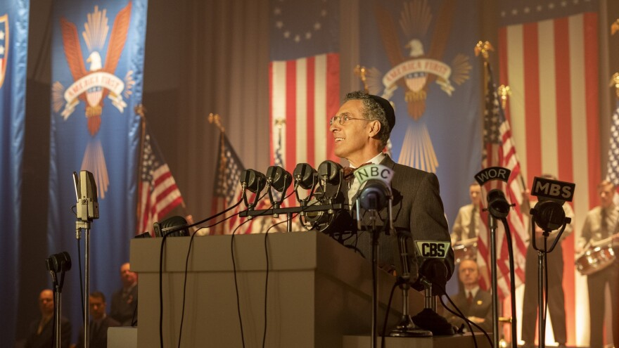 "John Turturro plays Rabbi Lionel Bengelsdorf in <em>The Plot Against America,</em> a limited HBO series based on Philip Roth's 2004 novel. ""Every one of the characters struggles with that question of: Where do you stand in an America that is transforming itself into something less than a republic?"" says series co-creator David Simon."