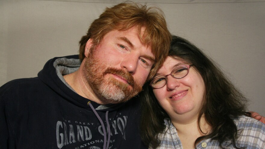 Barb Abelhauser and John Maycumber, on a recent visit with StoryCorps.