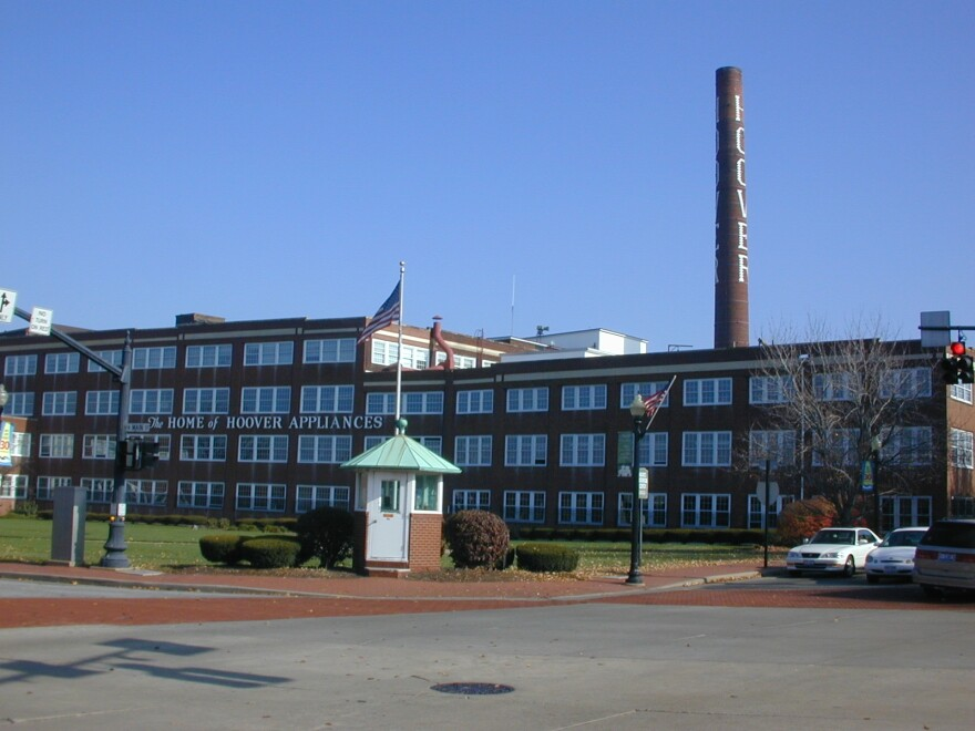 photo of Hoover plant