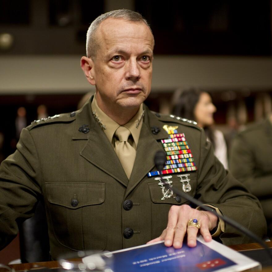 Marine Corps Gen. John Allen.