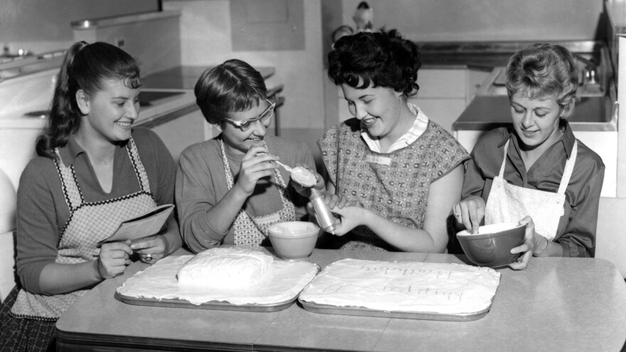 In midcentury home economic classes, girls learned to cook for their future husbands while boys took shop. But now kids might learn about healthy relationships or how to balance a bank account.