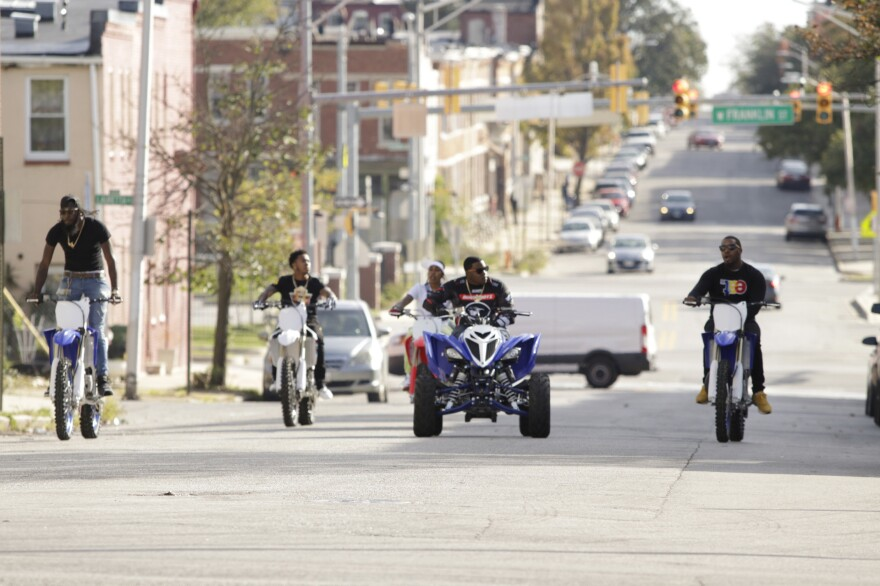 <em>Charm City Kings </em>was filmed in West Baltimore.