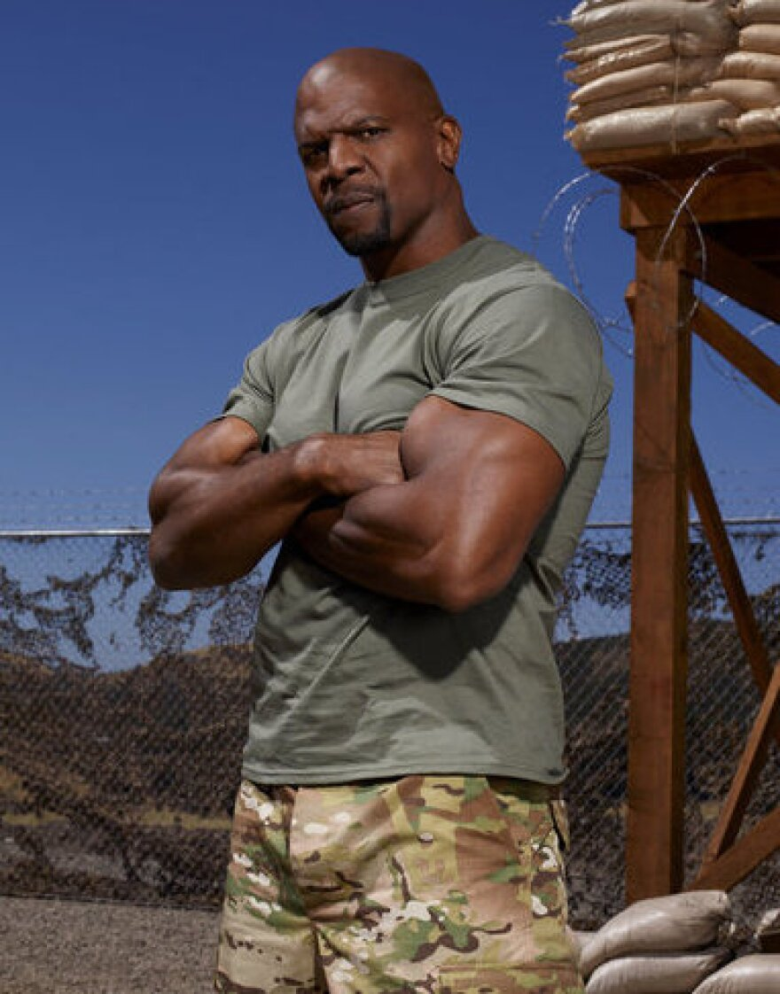 Terry Crews is one of eight celebrities supposedly getting a taste of military life in <em>Stars Earn Stripes</em>.