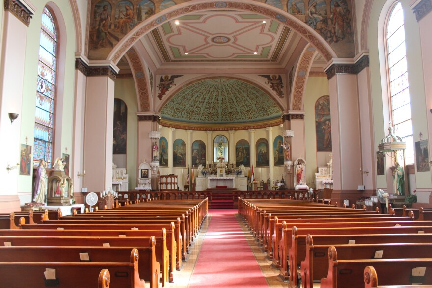 St. Mary of Victories Church & St. Stephen of Hungary Chapel is the home of two faith populations, a traditional Roman Catholic group and the Hungarian Catholics of St. Louis.