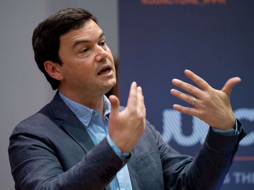 French economist Thomas Piketty, author of <em>Capital in the Twenty-First Century,</em> says governments must impose heavy taxes to break up concentrations of wealth.
