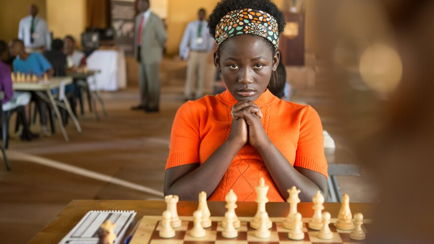 """<em>Queen of Katwe</em> was filmed in English, but that isn't Madina Nalwanga's first language. """"She worked extremely hard,"""" co-star Lupita Nyong'o says, """"and I think her discipline as a dancer came in very handy."""""""