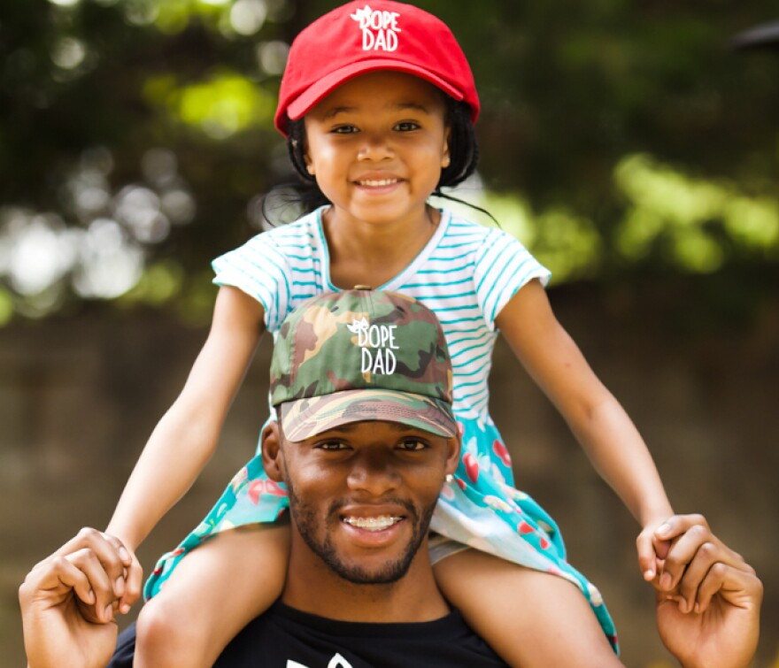 Joshua Johnson said he enjoys teaching his daughter life lessons, so she can be an informed young woman.