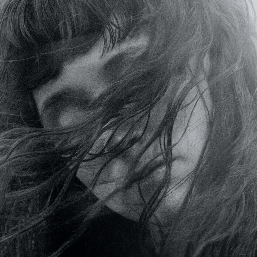 Katie Crutchfield on the cover of Waxahatchee's Out In The Storm, due July 14.