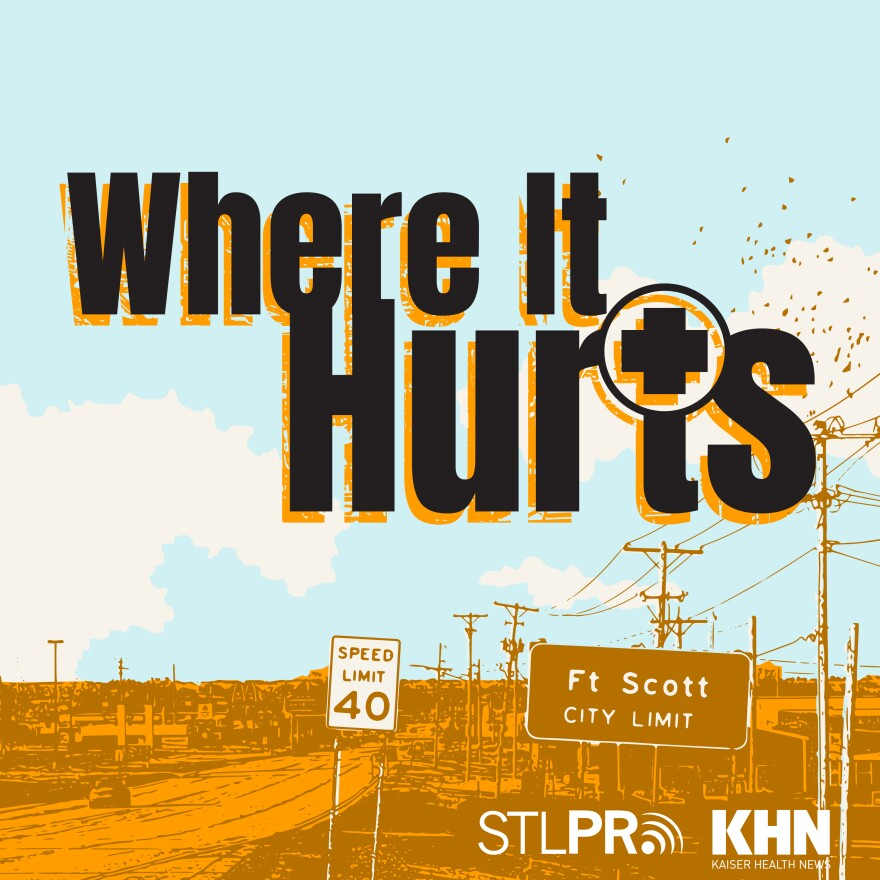 Where It Hurts Podcast Logo
