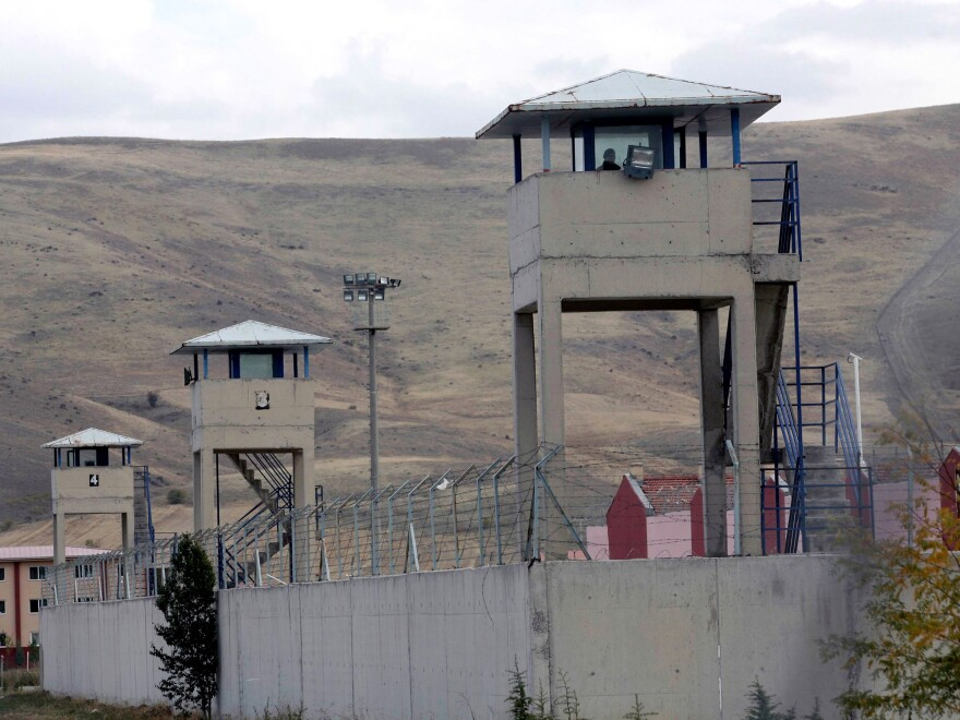 The prison in Sincan, outside Ankara.