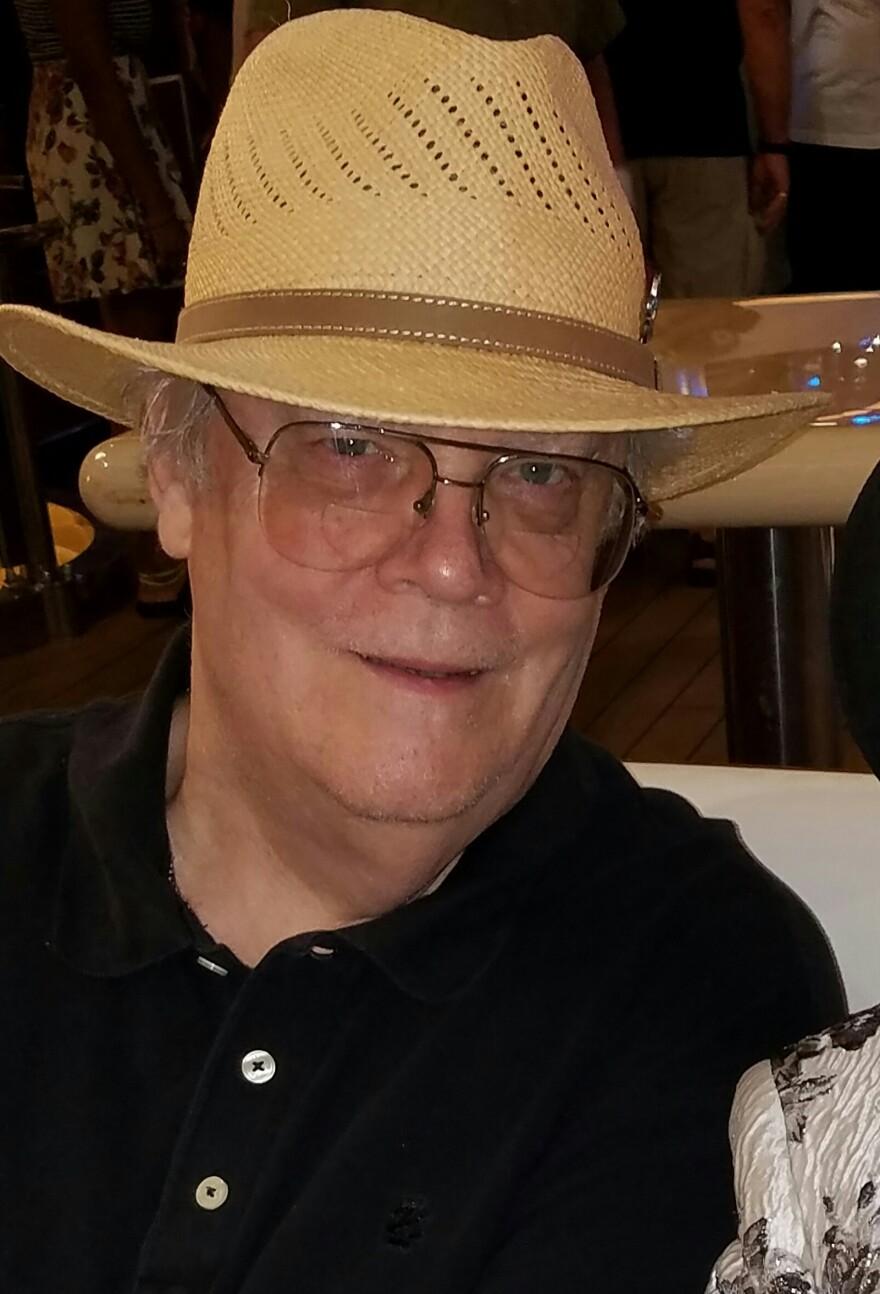 Bob Porter with hat