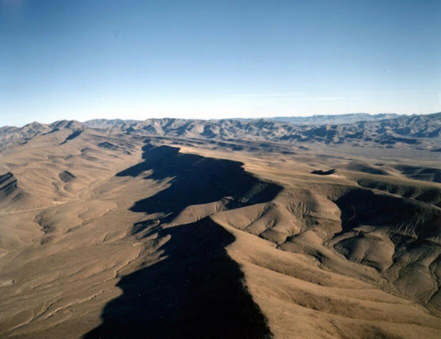 Photo of Yucca Mountain.