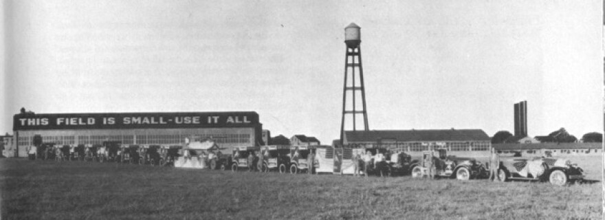 Dayton's McCook Field in 1924