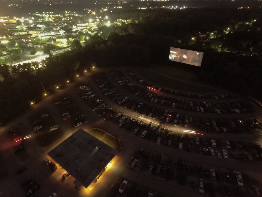 The Dixie Twin Drive-In transforms into a flea market every Sunday morning, then back into a theater in the evening. It's been a Dayton staple for 68 years, even as drive-ins across the country have closed.