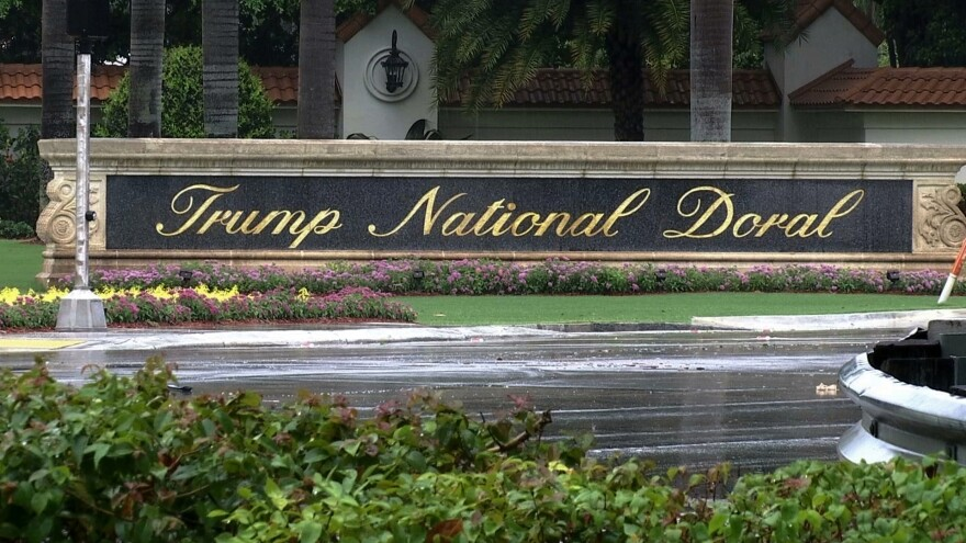 On Saturday, President Trump abandoned his plan to host the next G-7 summit at his golf resort in Doral, Fla.