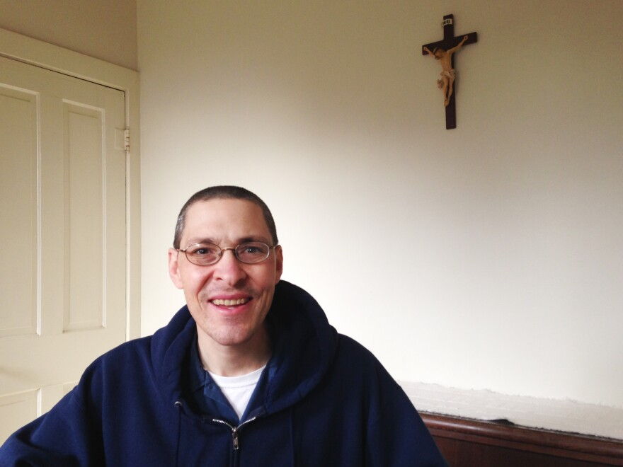 Brother Christopher says the winery and his religious vocation have grown up together.